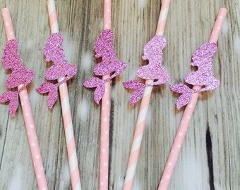 Mermaid prry straws, mermaid drink, mermaid decor, mermaid party