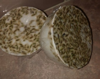 Handmade shea soap