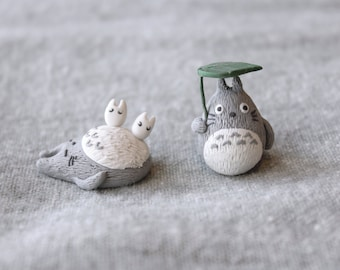 Totoro Figurines Handmade
