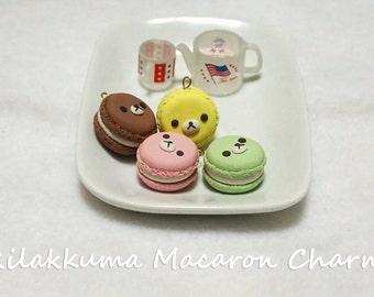 Rilakkuma Inspired Macarons