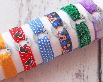 Dopey Challenge Running Bracelet Set, Gift For Runners, ShimmerBand, Running Costume
