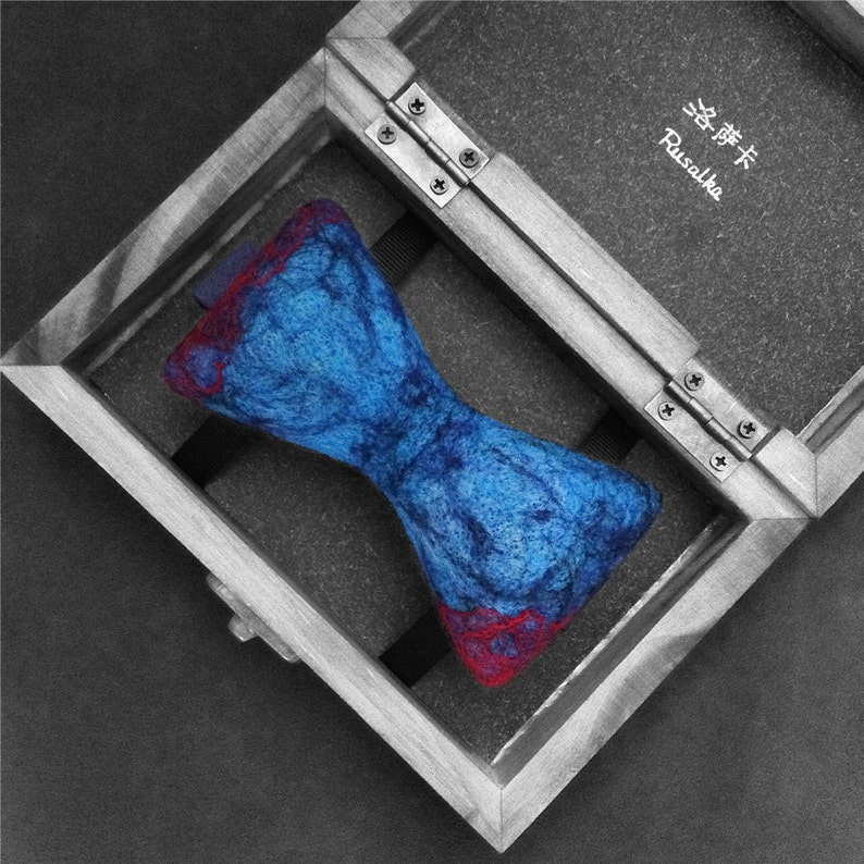 f276f1ab82787f Limited edition artisan bow tie in branded wooden gift-box