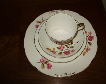 SALE! Royal Stafford Bone China Place Setting Made in England
