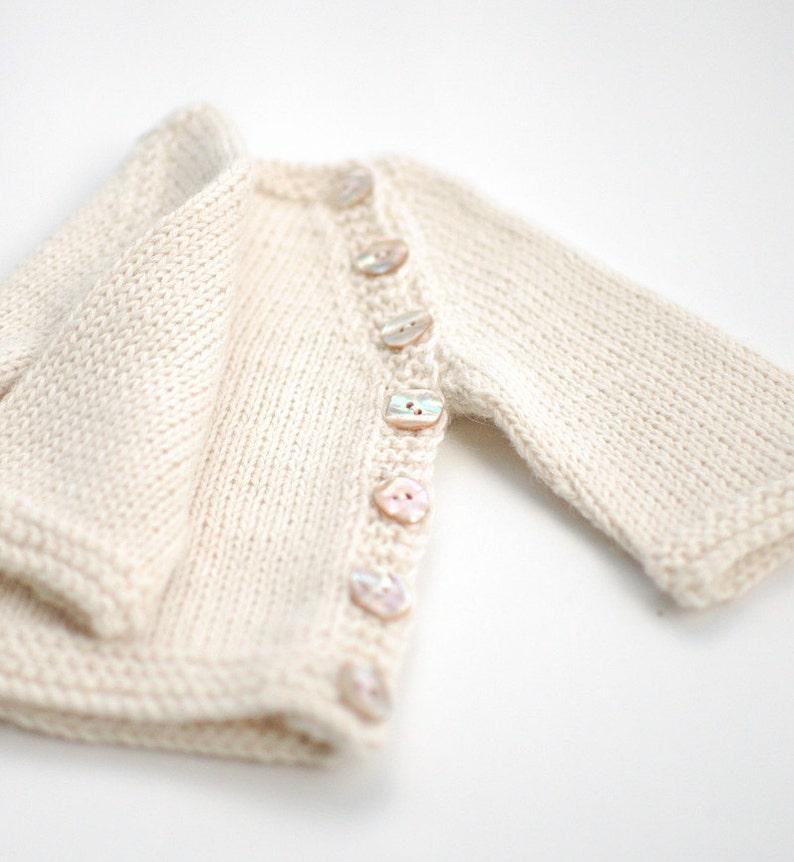 fb6805832dc4 Baby Alpaca baby sweater Hand knit organic alpaca Baby