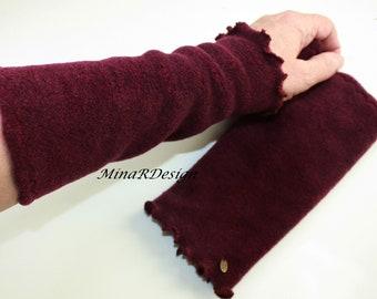 Pulsw/ärmer super kuschelig Armstulpen in Wellness-Fleece