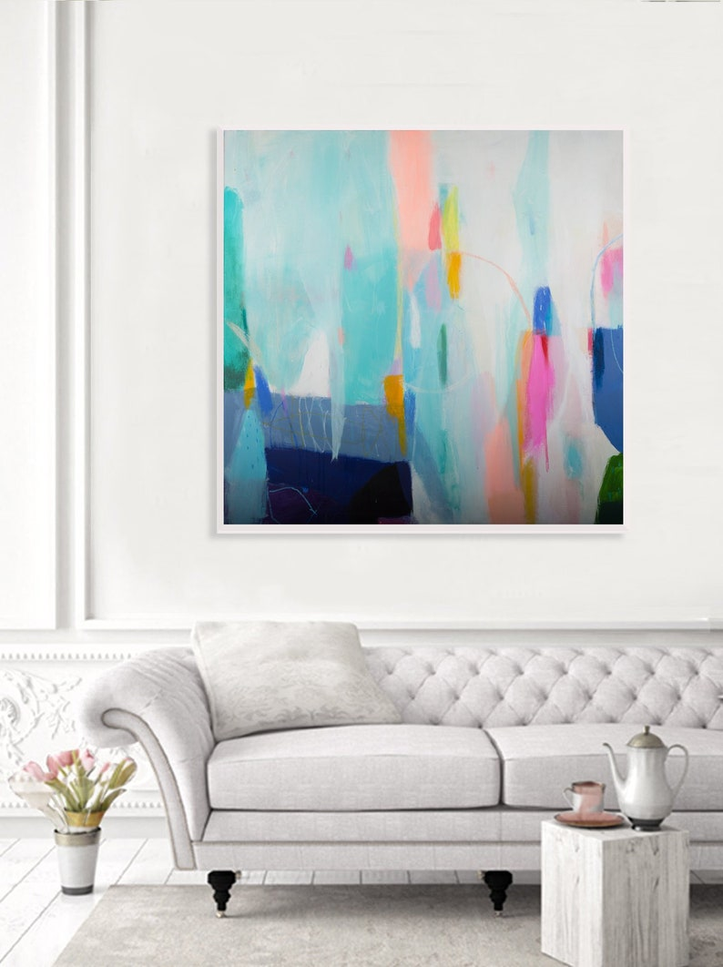 original abstract painting abstract colorful painting modern image 0