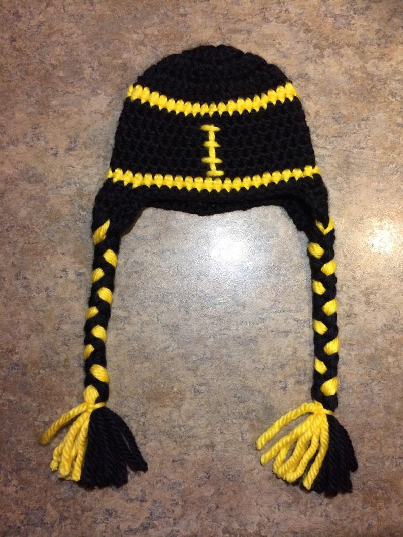 Pittsburgh Steelers Inspired Girl Football Helmet Hat