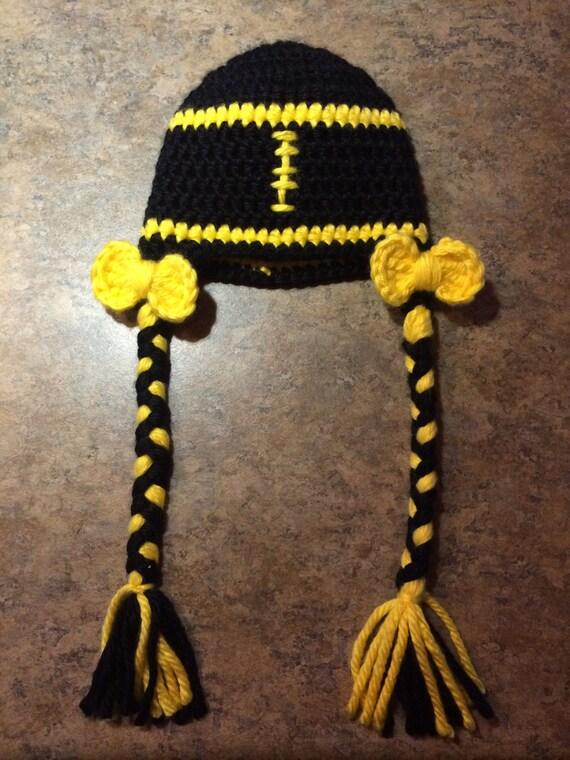 9cc513113f2 Pittsburgh Steelers Inspired Girl Football Helmet Hat