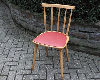 Cool Kitchen Chair/ Dining Room Chair from the 50s/60s in Red