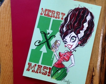 Christmas Greeting Cards 6 Pack - Featuring Artwork by Candy