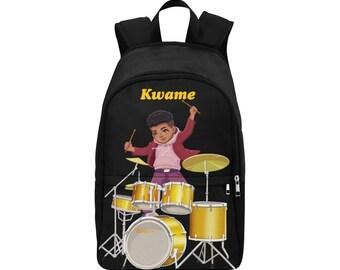 Little Prince Rock Star Drummer Drumsticks Royal Blue Sneakers Clipart Instant Download Sitting Baby Boy 3 Skin Tones
