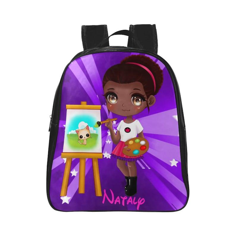 Princess Backpack Personalised Princess Backpack Back to  a2b7d21ea4cef
