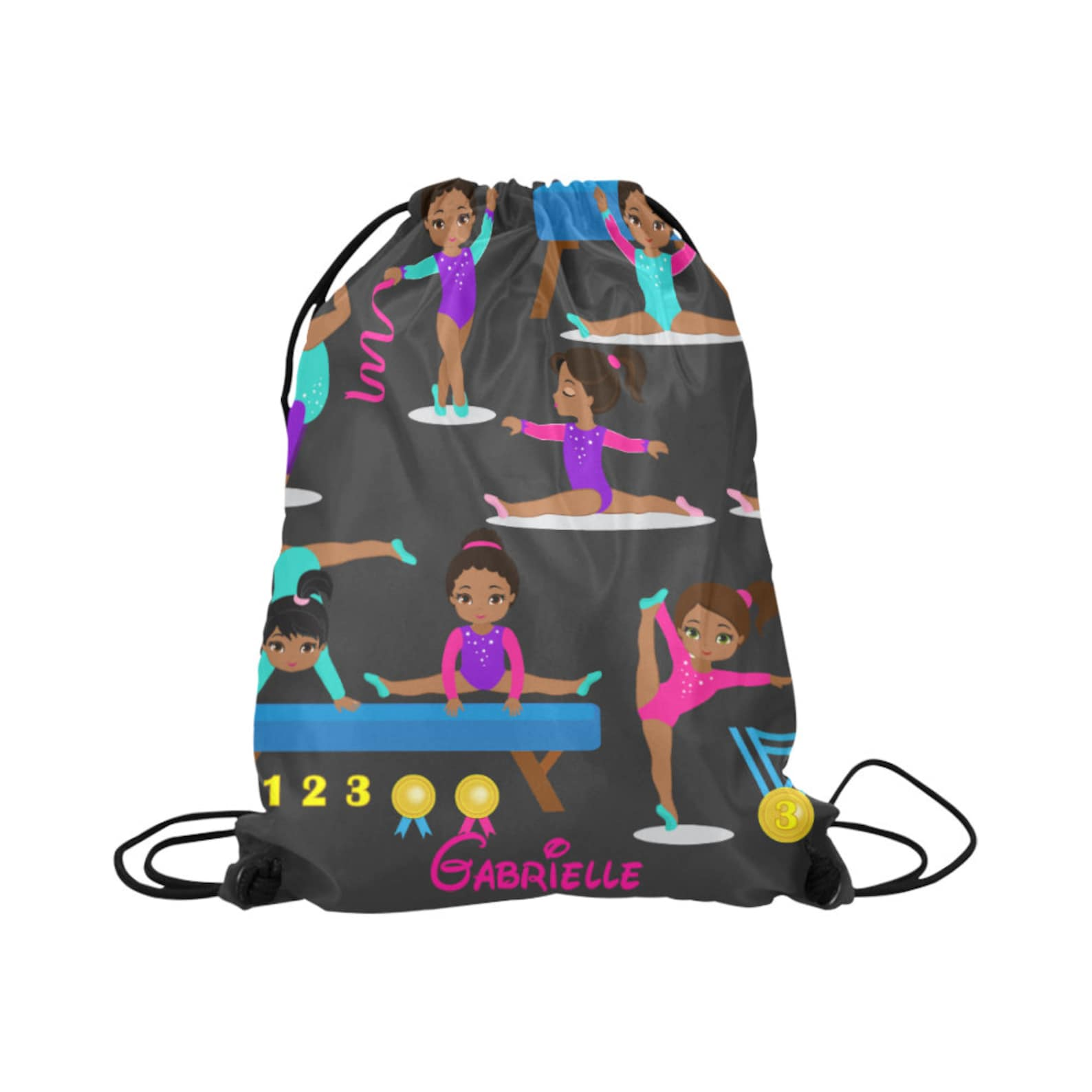 personalized dance bag, drawstring backpack, ballerina backpack for girls, dance bag, ballet drawstring backpack , girls ballet