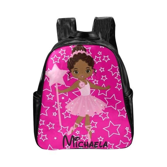 Monogram Dance Bag Personalized Dance Bag Monogram Ballet Bag Dance Ballerina Bag Backpack Drawstring Dance Bag Ballet Bag