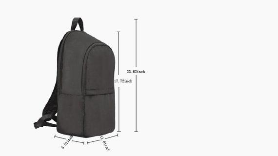 Pre-School And Kindergartners African American Bookbag 2 Sizes Med /& Lg Boys Pilot School Backpack Black Waterproof Backpack Daycare