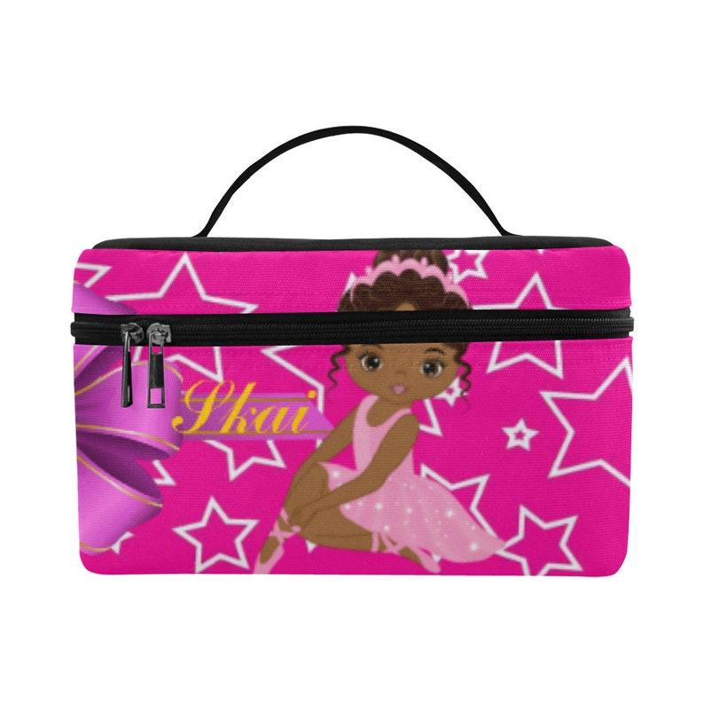 6b5dd67ae Monogram Makeup Bag Toiletry Bag Train Case Girls Cosmetic