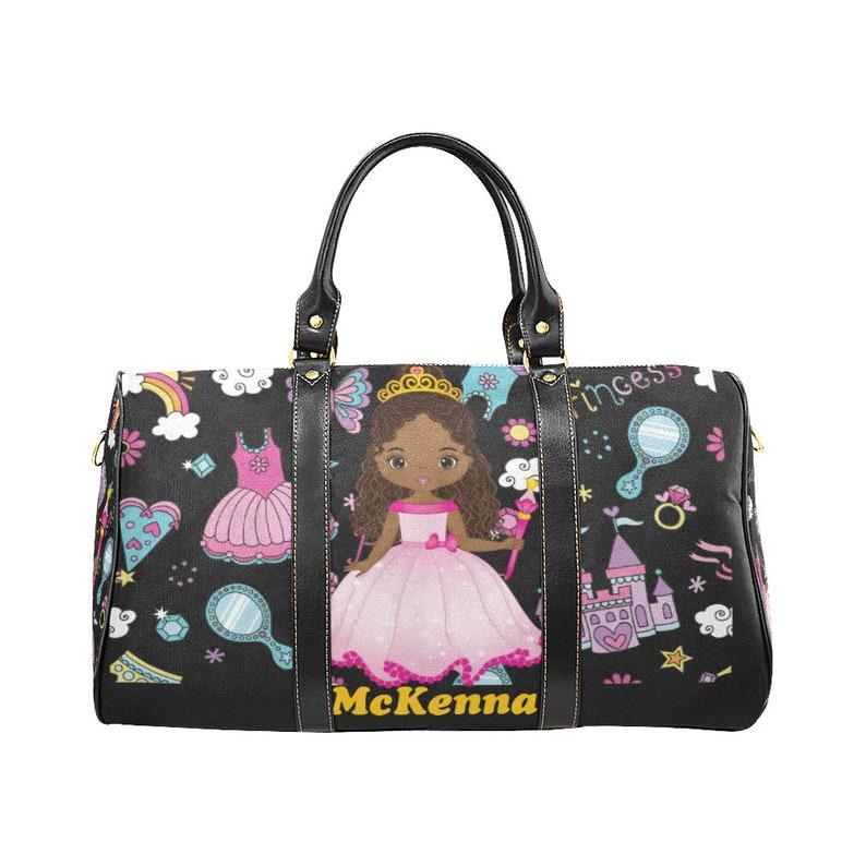 79137105dd94 Kids Bag, Personalized Children's Overnight Bag, Little Girl's Travel Bag,  Duffle Bag,Travel,Kids Luggage, Gift, Weekender Bag, Size Small