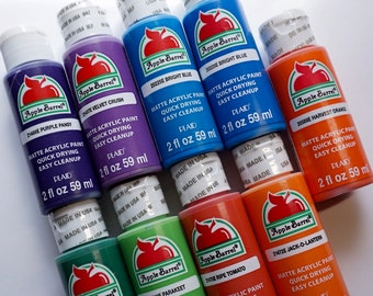 Apple Barrel Acrylic Paint Set, 9 Piece