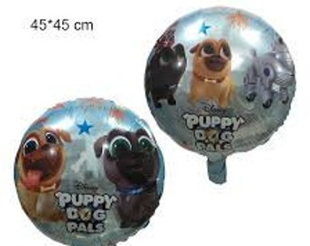 PUPPY DOG PALS Balloons - Foil Mylar - Party Decor - Birthday Supplies - 18 inch