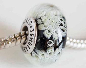 Beads & Jewelry Making Beads 20pcs Round Skull Big Hole European Resin Glass Beads Fit Pandora Bracelet Chain Boho Necklace For Jewelry Making Accessories Moderate Price