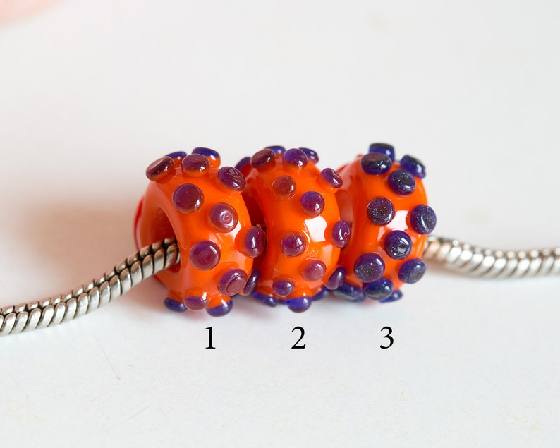 Glass eye Lampwork bead Large hole bead Doll eye bead European bracelet Heady glass bead Evil eye talisman charm Human eye charm bead