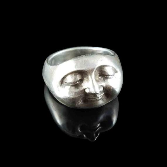3-Piedra Halo Anillo Declaración en plata esterlina .925 Ópalo de cristal de la CZ Cabujón Lab