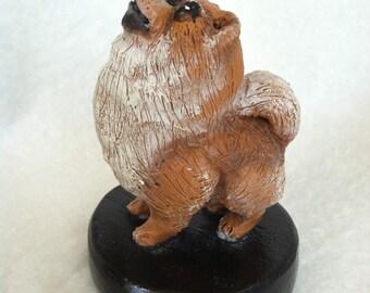 Pomeranian sculpture