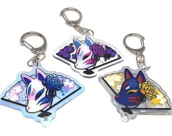 Kitsune Acrylic Charms
