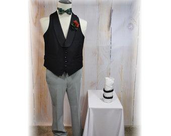 1920's Guy Costume / Ragtime Piano Player Costume / Barbershop Quartet-Small-Medium-Large (L3)