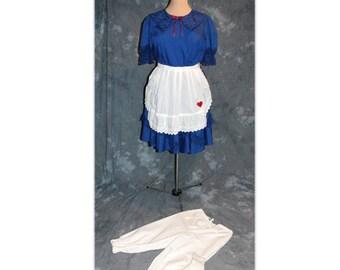 Raggedy Ann /  Rag Doll / Alice in Wonderland / Storybook Character/ Sweet Lolita Costume-XL (A8)
