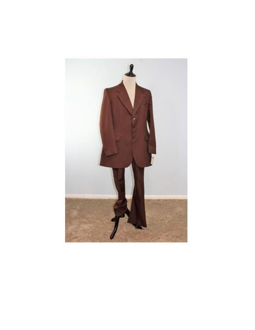 Men's 1920s Style Ties, Neck Ties & Bowties Equestrian SuitMade in England Nwt Vintage Riding Habit Mens Costume-42L  N83 $12.00 AT vintagedancer.com