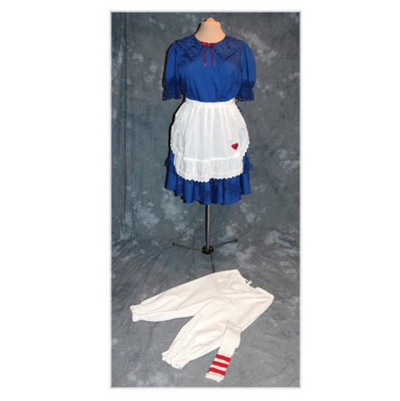 Raggedy Ann Rag Doll Alice au pays des merveilles Storybook Character Sweet Lolita Costume XL (A8)