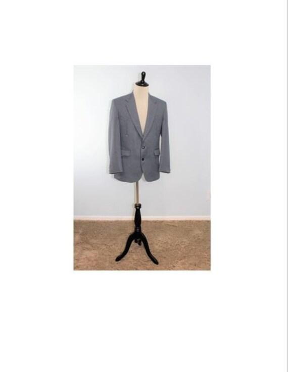 Western Suit Jacket / Cowboy / Vintage Circle Dal… - image 1