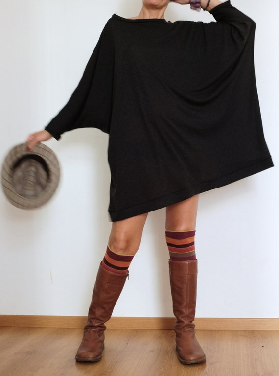 Oversized Sweater Sweater Dress Plus Size Clothing Wool Etsy