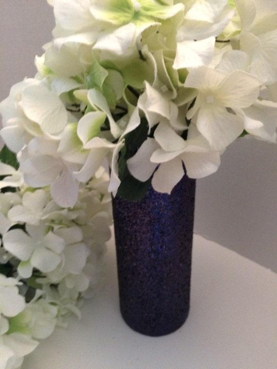 Glitter Flower Vase Wedding Centerpiece Wedding Etsy
