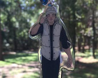 UNTIL DAWN Josh Washington double sided charm & Wendigo | Etsy