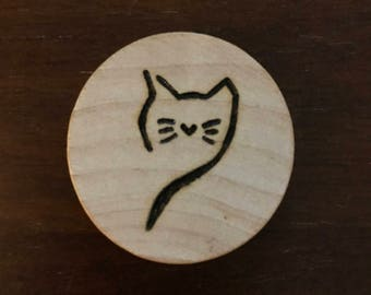 Cat Keychain or Ornament