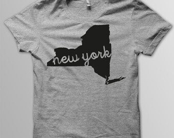 Custom NEW YORK Hometown American Apparel Tri blend Tshirt