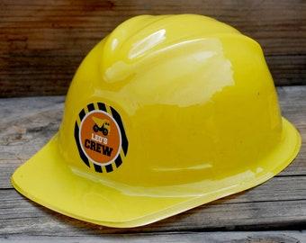 Construction Birthday Party Favor Hard Hat Decoration Under Dump Truck