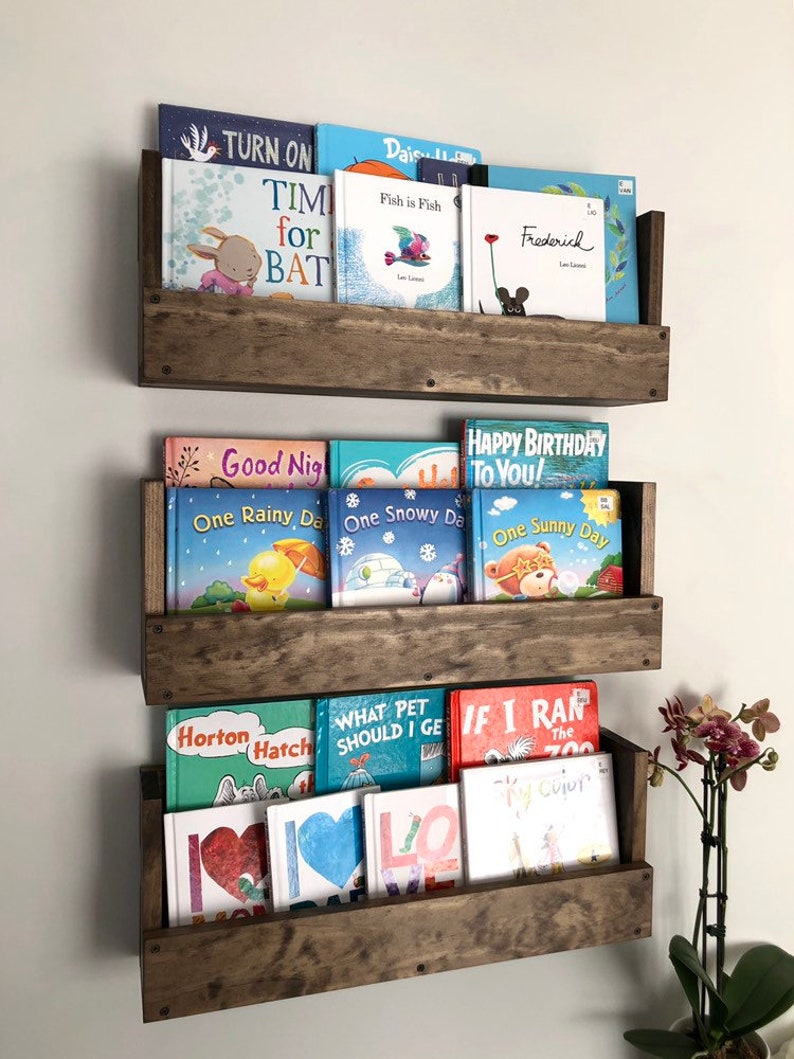 Attrayant Kids Room Wall Hanging Book Shelves, Nursery Book Shelves, Set Of 3 Book  Shelves, Wall Mounted Books Storage, Book Shelf, Playroom Storage