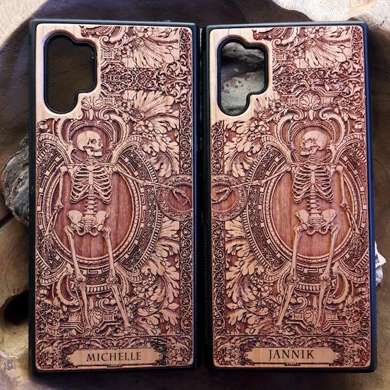 Huawei P30 P20 Pro Cool Unique Cases Wooden Note 20 10 9 Case XS Max Wood Case Galaxy S9 S10 S20 Ultra Plus Case iPhone XR X 11 12  Pro