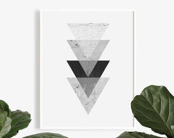 83111d5d30 Geometric art, Abstract print, Printable art, Scandinavian print, Large  wall art, Abstract art, Minimalist art, Nordic art, Wall art prints