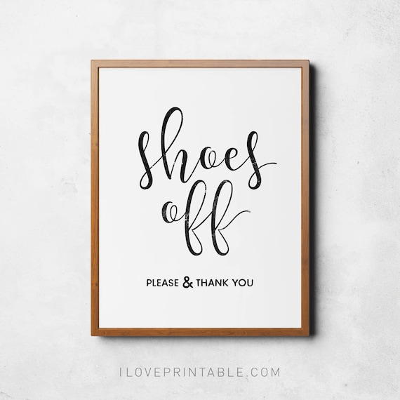photograph about Please Take Off Your Shoes Sign Printable named Footwear off indicator, Printable poster, Acquire sneakers off you should, Take away footwear indicator, Accessibility house artwork, Quick down load, Get off your footwear