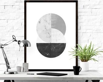 Geometric Art, Printable Abstract Art, Scandinavian Print, Printable Art, Modern Art, Graphic Print, Abstract Print, Digital Downlaod Print