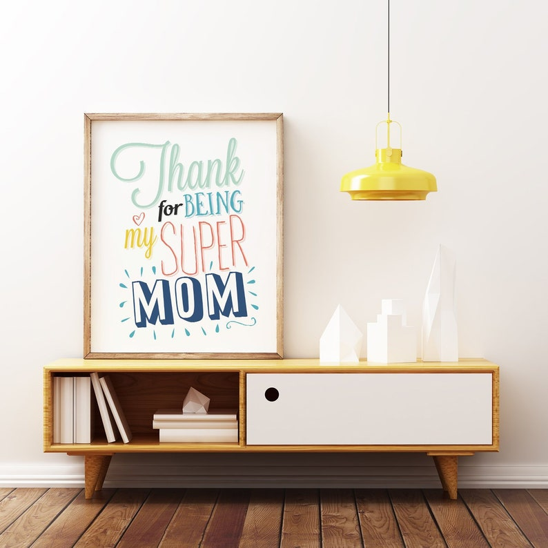 Mother Day Gift Home Print Quote Print Printable Art Gift image 0