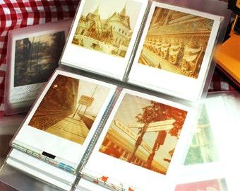 Polaroid Photo Album Film Holder Translucent for Polaroid FP-100c Fujfilm Instax Wide Polaroid 600 Films of SX70 PX70 PX680 PX600 PX100 600