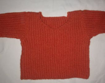 English coast baby sweater size 9 months