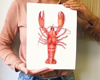 Print Lobster