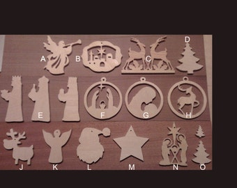 Individual Christmas Tree Hangers