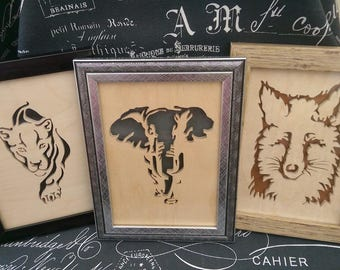 Scroll Saw Framed Pictures